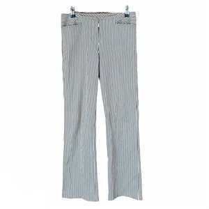 Yansi Fugel Brown/Cream Boot Cut Dress Pants